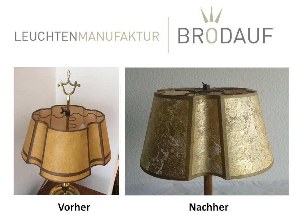 Hervorragend Lampenschirm neu beziehen   Leuchtenmanufaktur Brodauf CP69